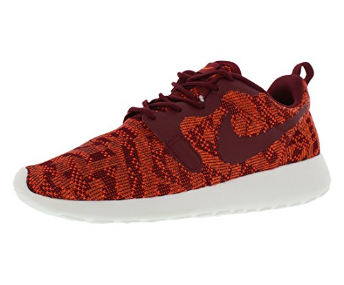 Nike Womens Roshe One KJCRD Total Orange/Team Red/Sail Running Shoe 7 Women US