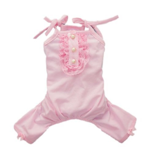 Pink Sweetie Dog Clothes for Dog Shirt Comfy Dog Pajamas Free Shipping,M, My Pet Supplies