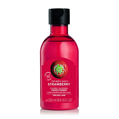 The Body Shop Strawberry Clearly Glossing Conditioner, 8.4 Fl Oz (Vegan)