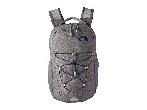 The North Face Jester, Zinc Grey Light Heather/Flag Blue, OS (Zinc Grey North Face Backpack)