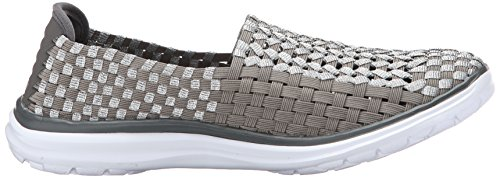 Rockport Cobb Heuvel Womens Wise Ch Flat Taupe / Multi