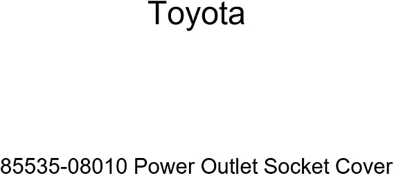 For Toyota Genuine 12 Volt Accessory Power Outlet Cover Rear 85535AE020B1