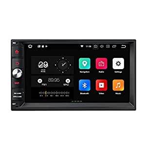 "eonon 2din Android 8 Indash Car Digital Audio Video Stereo Autoradio 17,8cm 7"" LCD Touchscreen GPS Sat Nav Bluetooth WiFi FM RDS USB OBDII DAB+ DSP incorporado Headunit GA2171S (NO DVD)"