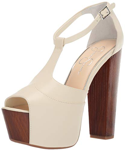 Jessica Simpson Women's DANY Shoe, pina Colada, 10 M US - Jessica Simpson Peep Toe Shoes