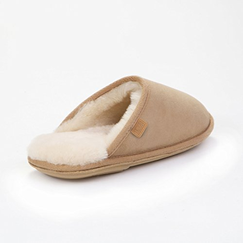 Sheepskin Shaftsbury Sheepskin Ladies Just Slippers Beige 1qwv4xSTn