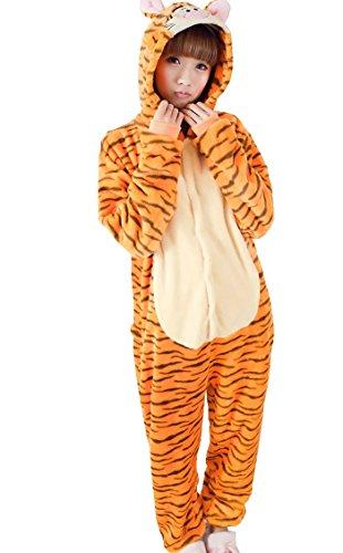 [Betusline Cute Sleepsuit Costume Cosplay Homewear Onesie Pajamas Tiger] (Plus Size Tiger Costumes)