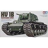 Tamiya Military Miniature Series KV-1B Russian Tank 1:35 Scale - Plastic Model Kit - 35142