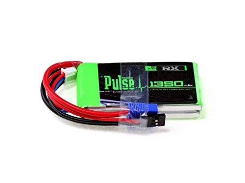PULSE 1350mAh 2S 7.4V 15C - Receiver Battery - LiPo (Lipo Receiver Battery)