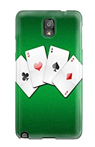 Kara J smith's Shop Best Fashionable Galaxy Note 3 Case Cover For Poker Protective Case 3656906K17071890