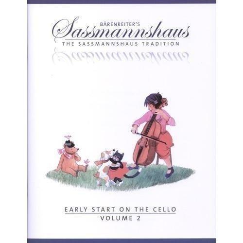 Sassmannshaus, Kurt - Early Start on the Cello Book 2 Published by Baerenreiter ()