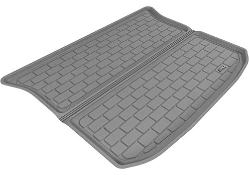 3D MAXpider Cargo Custom Fit All-Weather Floor Mat for Select Ford Edge Models – Kagu Rubber (Gray)