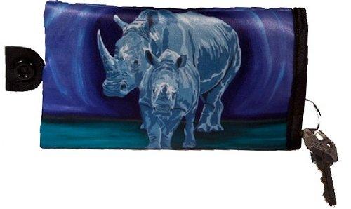Rhino Key Case   Key Chain  Support Wildlife Conservation