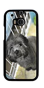 Cute Dog Hard Case for HTC ONE M8 ( Sugar Skull ) by mcsharks