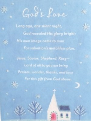dayspring christian christmas cards gods love is jesus cards with old fashioned church - Christian Christmas Card Sayings