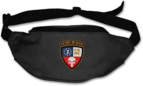 テネシー州第7騎兵隊ユニセックスアウトドアファニーパックバッグベルトバッグスポーツウエストパック