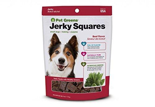 Pet Greens Jerky Squares Dog Treats