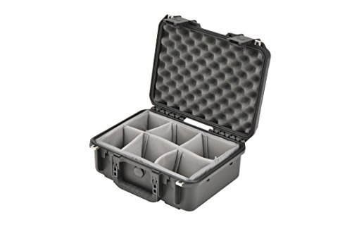 SKB Injection Molded Water-tight case 15 x 10 x 6 Inches with Dividers (3I-1510-6B-D) by SKB (Image #4)
