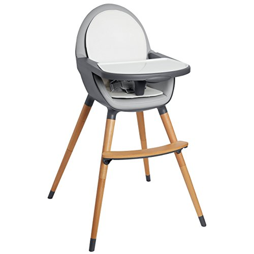 Skip Hop Tuo Convertible High Chair, Charcoal Grey by Skip Hop (Image #3)