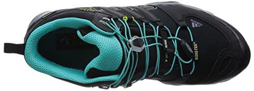 adidas Terrex Swift R Mid GTX W, Scarpe da Escursionismo Donna, Nero, 36 EU