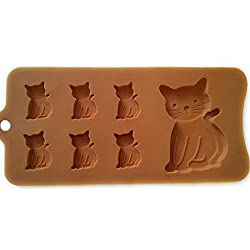 Cat Shaped Tray - Silicone Mold, Baking, Jello Shots