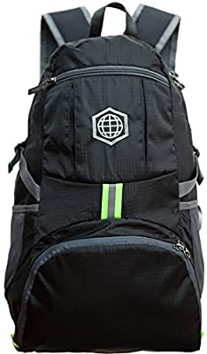 Travel Daybag Hiking Backpack- Best Water Resistant Ultra Lightweight Daypack