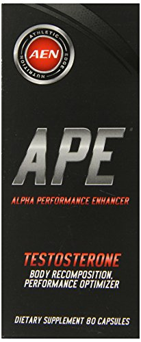 Athletic bord Nutrition Ape Capsules, 80 comte