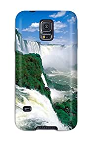 tiffany moreno's Shop 7937366K76810805 New Arrival Case Cover With Design For Galaxy S5- Iguazu Waterfalls