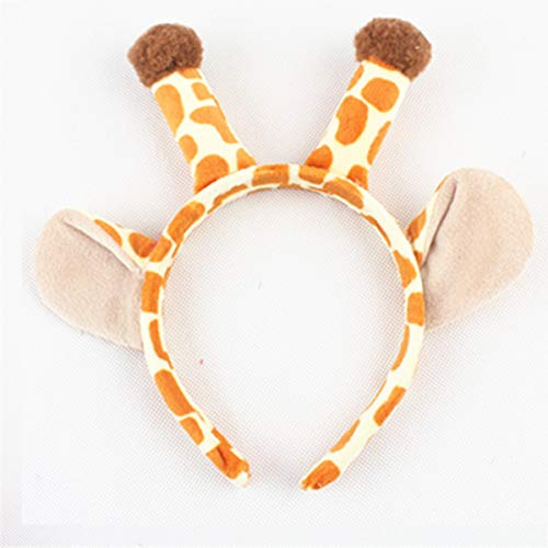 - Giraffe Headband Kindergarten Activities, Birthday Parties, Christmas elk, Christmas Decorations, Parties--One Size Fits All This Christmas