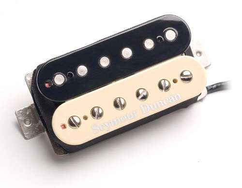 Humbucker Pickup Zebra - Seymour Duncan SH-16 59Custom Hybrid Humbucker Pickup Zebra Bridge