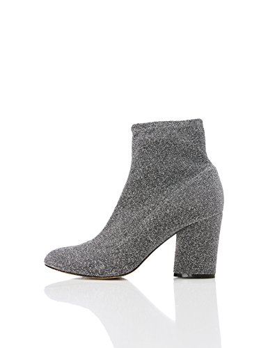 FIND-Womens-Sparkle-Stretch-Ankle-Boots