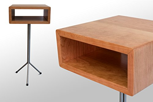The Toole Nightstand/End Table: Cherry