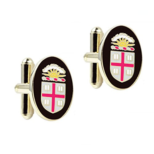 Brown University Gold Plated Cufflinks