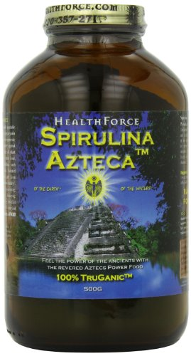 Healthforce Spirulina Azteca Powder 500-Grams