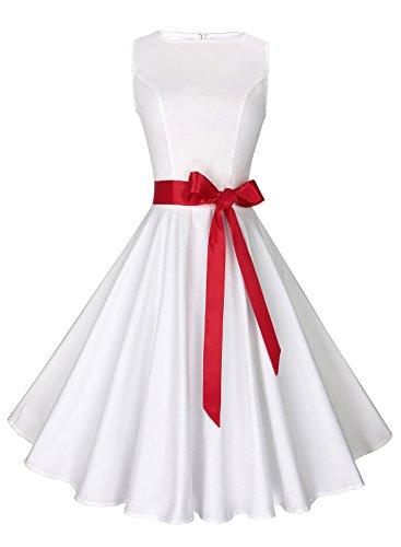 junior dress in white - 7