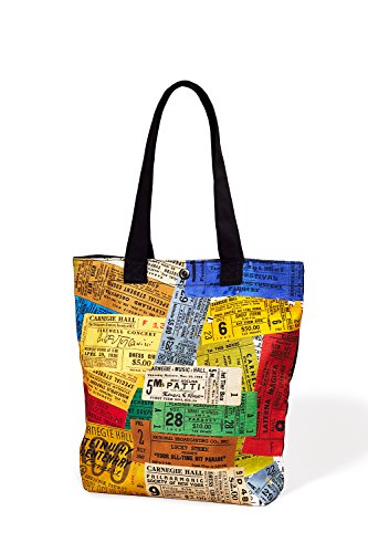 Carnegie Hall Vintage Tickets Canvas Tote Bag