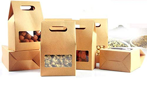Box Box - 10 15 5 6 1000pcs Stand Up Brown Kraft Paper Bags Boxes Recyclable Jewelry Food Cookie Candy - Set Amiibo Cabinet Storage Briefs Er Putty Boy Shoe Robot