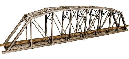 200' Single-Track Heavy-Duty Laced-Parker-Truss Bridge -- Kit - 28-1/4 x 3