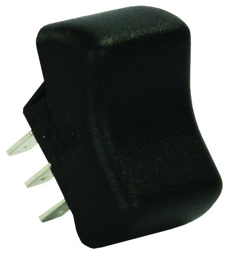 JR Products 13095 Black SPDT On/On Switch