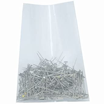 Aviditi PB1250 Poly Flat Bag Clear 4 mil Thick Case of 250 24 Length x 16 Width