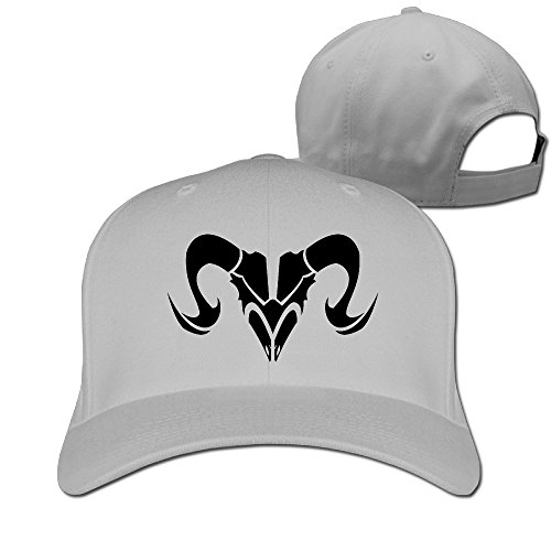fan products of Angry Aries Unisex Nice Black Friday Unicode Solid Peaked Hat Baseball Sport Student Cap