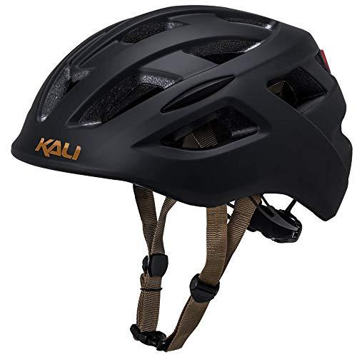 Solid Matte Black Helmet - Kali Central Helmet: Solid Matte Black, SM/MD