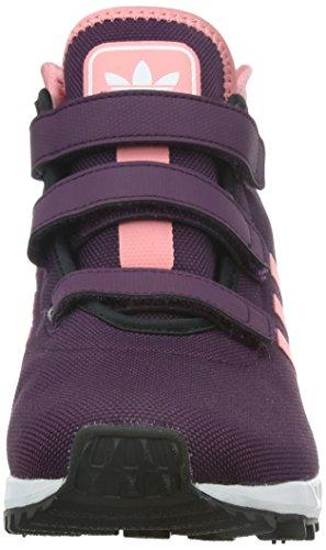 adidas ZX Flux Winter CF K - Zapatillas Para Niño Morado / Rosa / Blanco