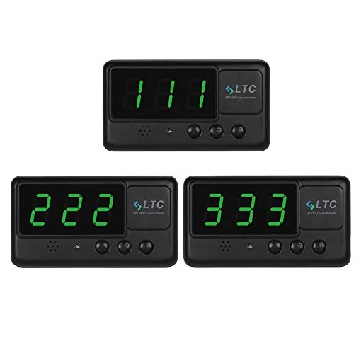LTC® Original Digital Universal Car HUD GPS Speedometer Overspeed Alarm Windshield Project for All Vehicle Amazon choices [tag]