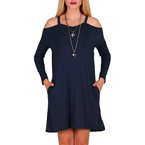 Navy Blue Casual Dresses for Juniors