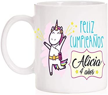 Taza Regalo Cumpleaños Personalizada. Regala taza con nombre ...