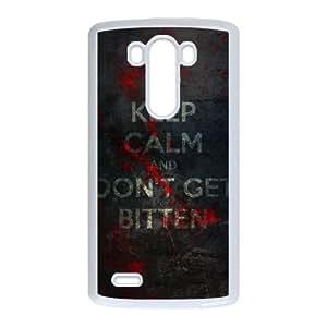 LG G3 Cell Phone Case White The Walking Dead hsl