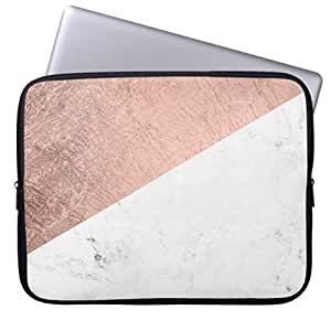 Amazon.com: Trendy Modern Rose Gold White Marble Color