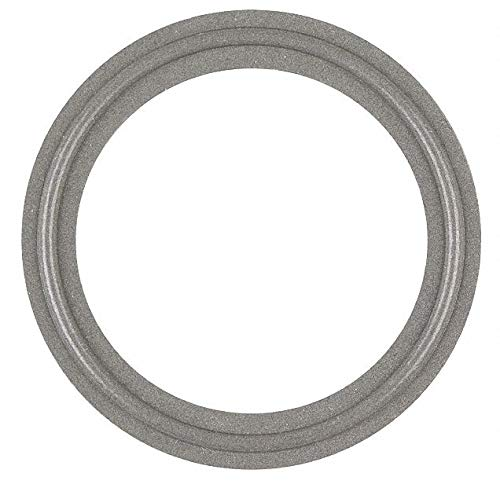 Tri-Clamp Gasket, 1.377' Inside Dia, 1.984' Outside Dia, Tuf-Steel, 1-1/2' Tube Size- Pack of 5