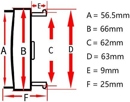 TAYDMEO 4PCS 66mm 62mm Sport Edition Car Wheel Center Cap Hub Rim Rim Car Rim Cover Hubcap
