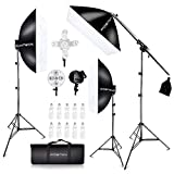 Best Continuous Lighting Kits - FOSITAN 3X 20'' x 28''Softbox Photography Lighting Kit Review